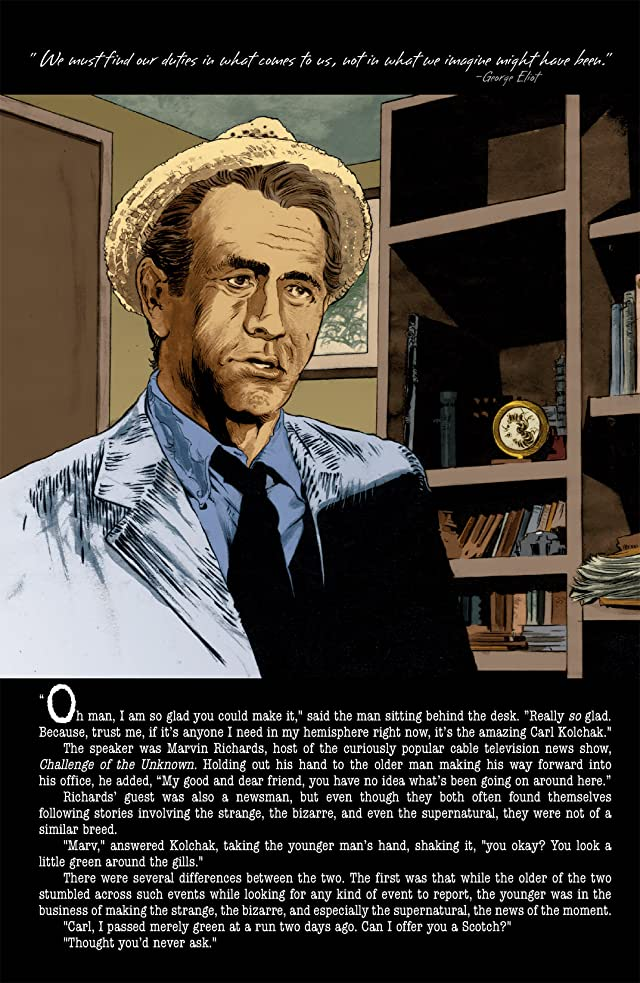 click for super-sized previews of Kolchak: The Night Stalker: The Lovecraftian Damnation