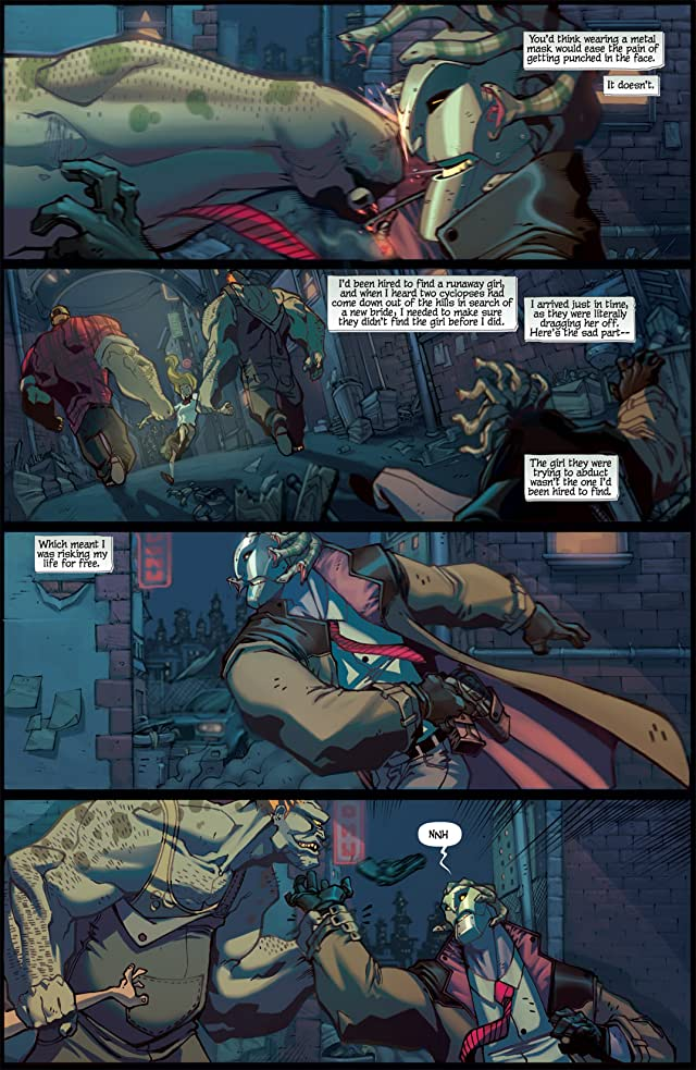 click for super-sized previews of Pilot Season: Urban Myths #1