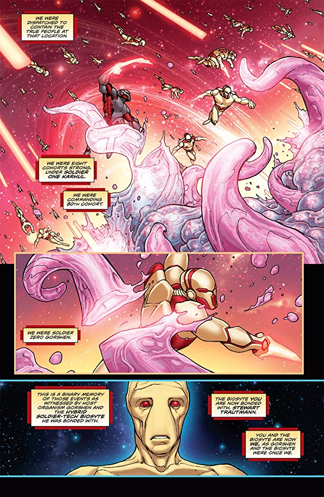 click for super-sized previews of Stan Lee's Soldier Zero #7