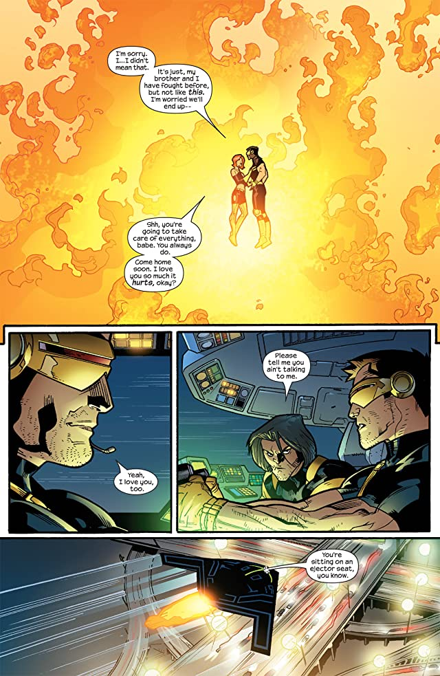 click for super-sized previews of Ultimate X-Men #63