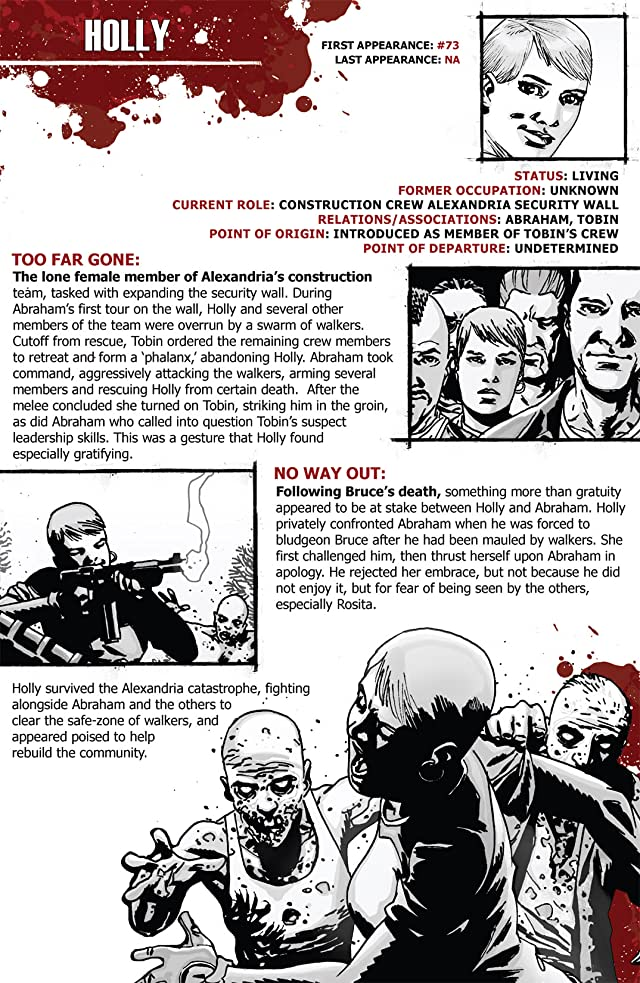 click for super-sized previews of The Walking Dead Survivors' Guide #3
