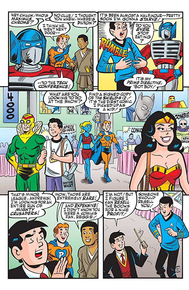 click for super-sized previews of Archie & Friends #156