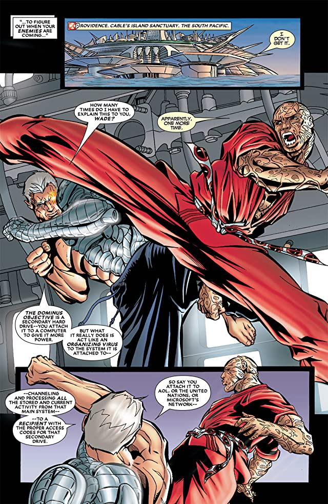click for super-sized previews of Cable & Deadpool #22