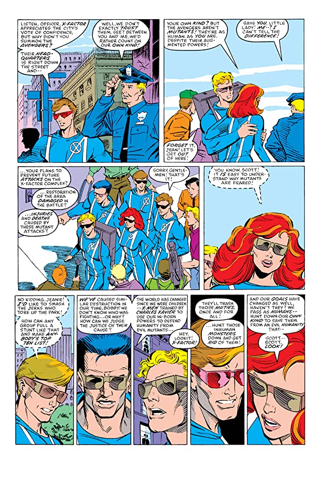 click for super-sized previews of X-Factor (1986-1998) #9
