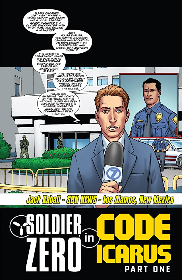click for super-sized previews of Stan Lee's Soldier Zero #5