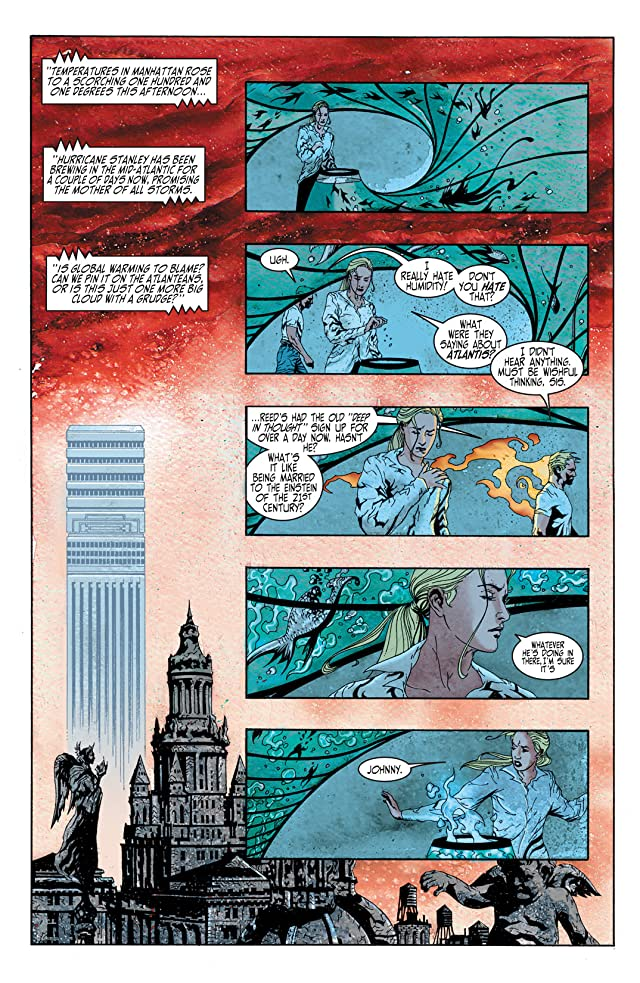 click for super-sized previews of Fantastic Four: 1234 #1
