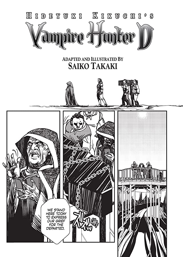 click for super-sized previews of Hideyuki Kikuchi's Vampire Hunter D Vol. 2: Preview