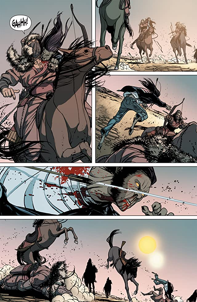click for super-sized previews of DV8: Gods and Monsters #7