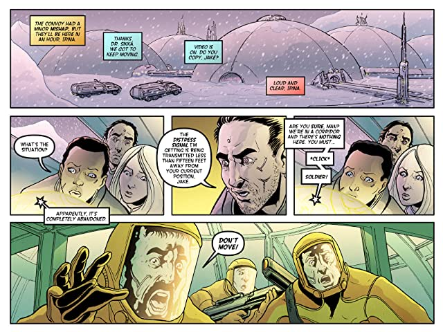 click for super-sized previews of Earthbuilders #3