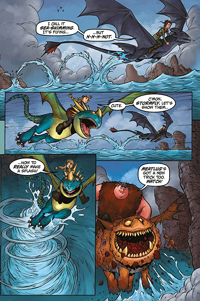 click for super-sized previews of Dragons: Riders of Berk Vol. 1: Dragon Down