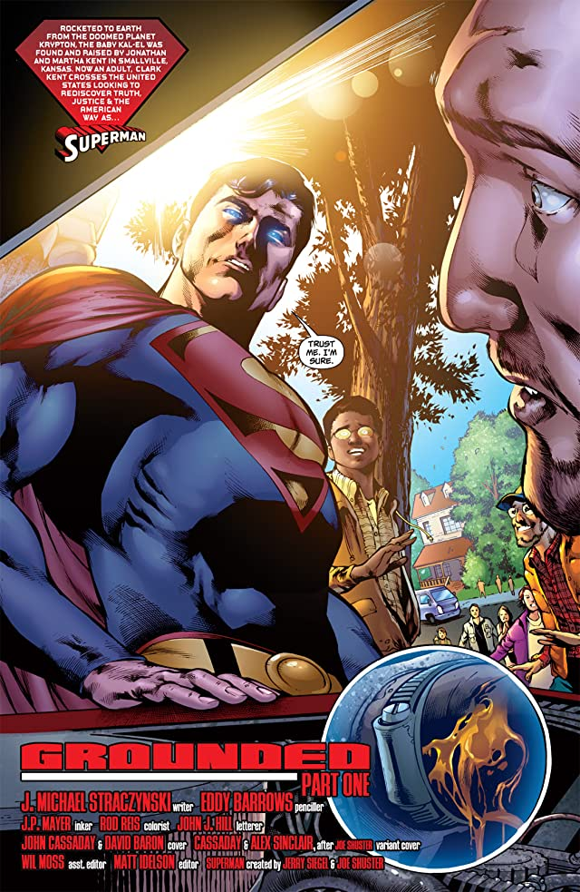 click for super-sized previews of Superman (1939-2011) #701