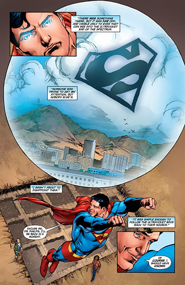 click for super-sized previews of Superman (1939-2011) #710