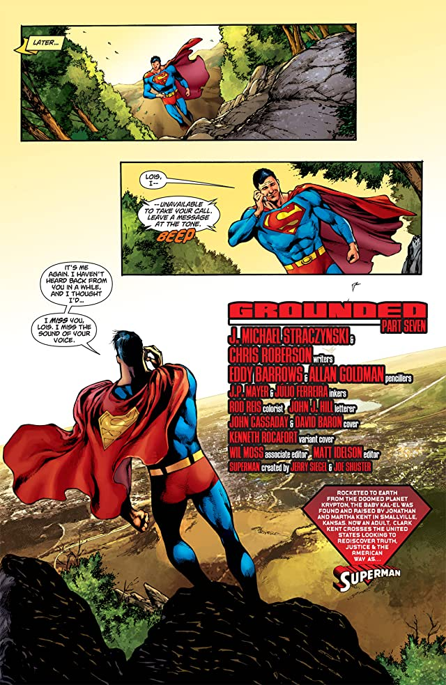 click for super-sized previews of Superman (1939-2011) #709