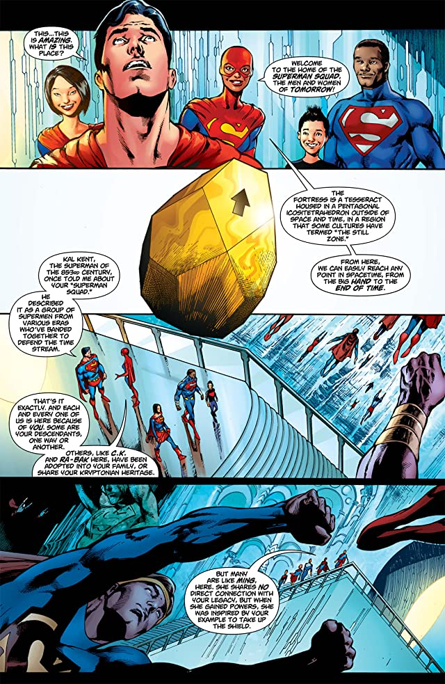 click for super-sized previews of Superman (1939-2011) #708