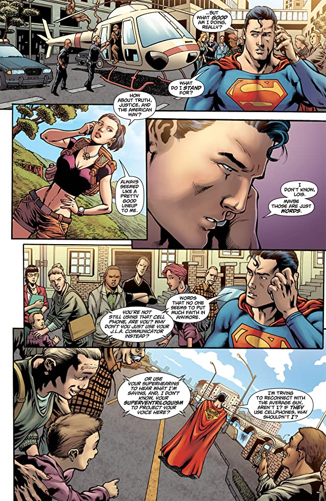 click for super-sized previews of Superman (1939-2011) #707