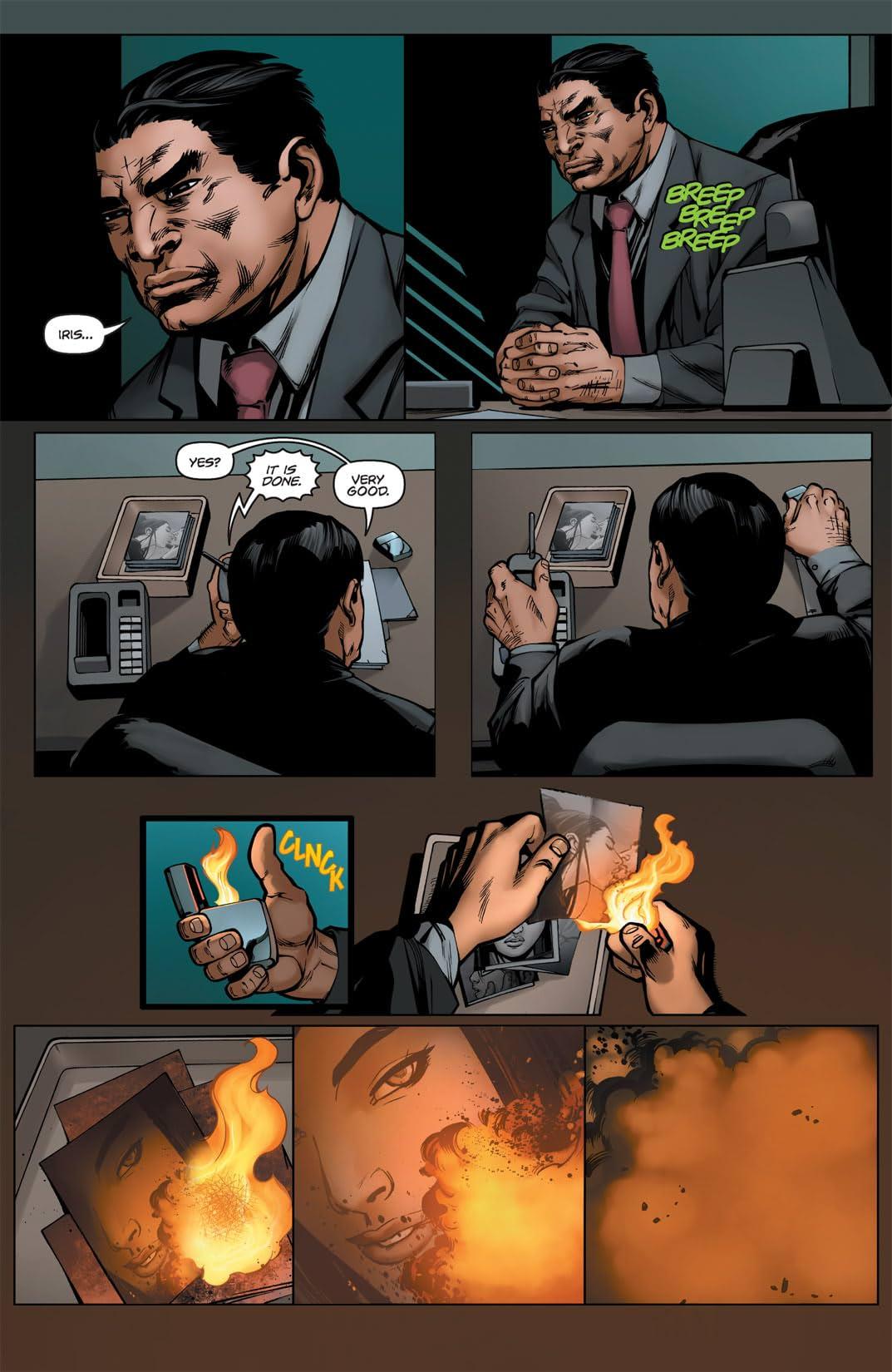 Executive Assistant: Iris #6