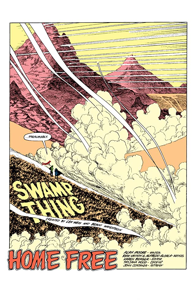 click for super-sized previews of Swamp Thing (1982-1996) #51
