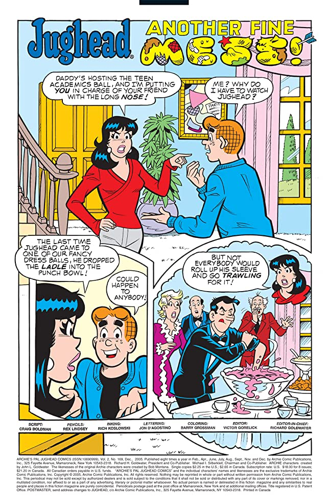 click for super-sized previews of Jughead #169