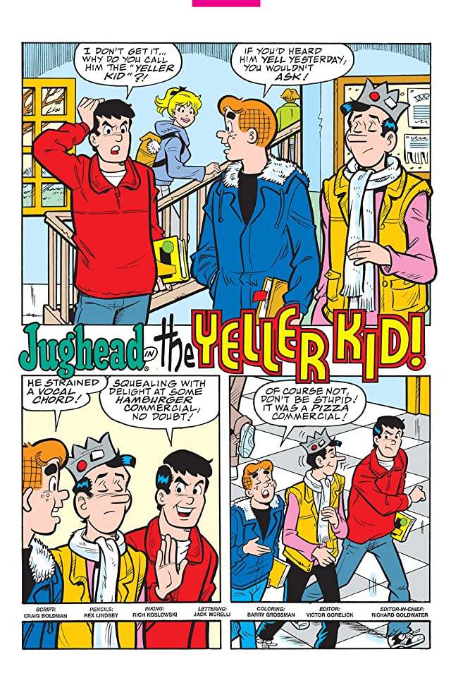 click for super-sized previews of Jughead #170