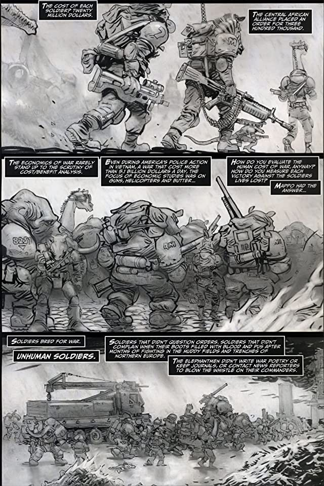 click for super-sized previews of Elephantmen: War Toys #3