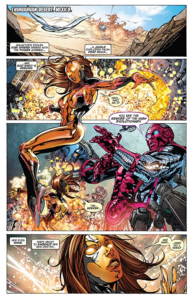 click for super-sized previews of Silver Surfer (2011) #4