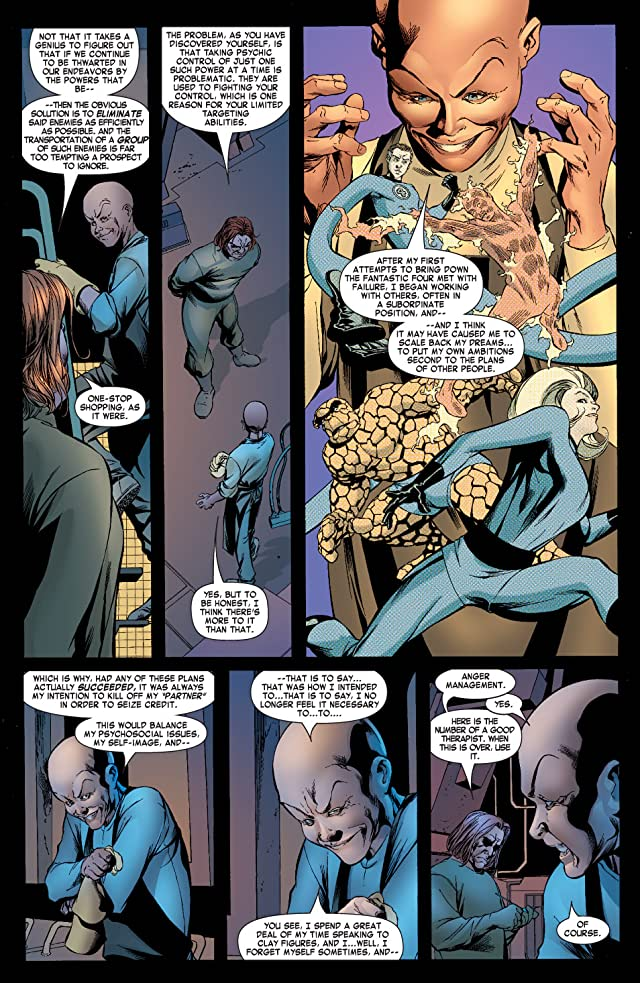 click for super-sized previews of Fantastic Four (1998-2012) #539