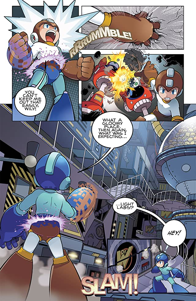 click for super-sized previews of Mega Man #1