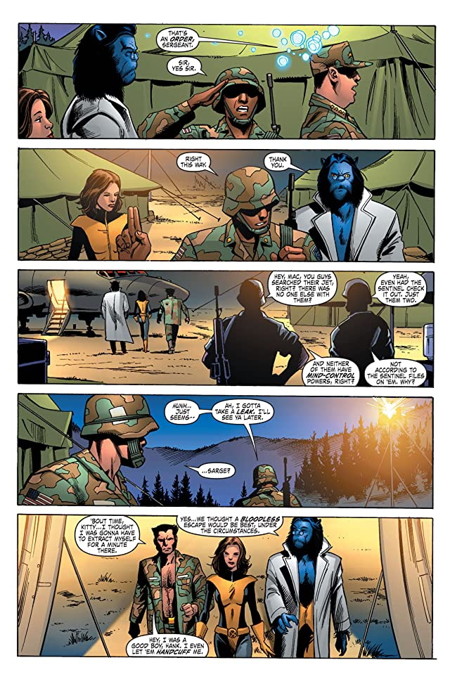 click for super-sized previews of X-Men: Deadly Genesis #2