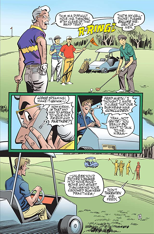 click for super-sized previews of Archie Marries Veronica #6