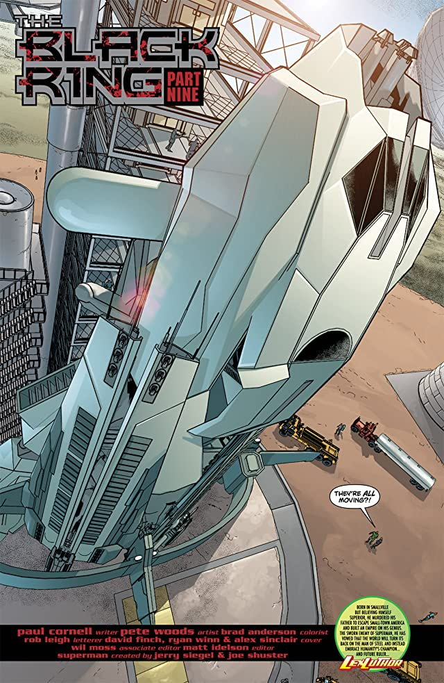 click for super-sized previews of Action Comics (1938-2011) #898