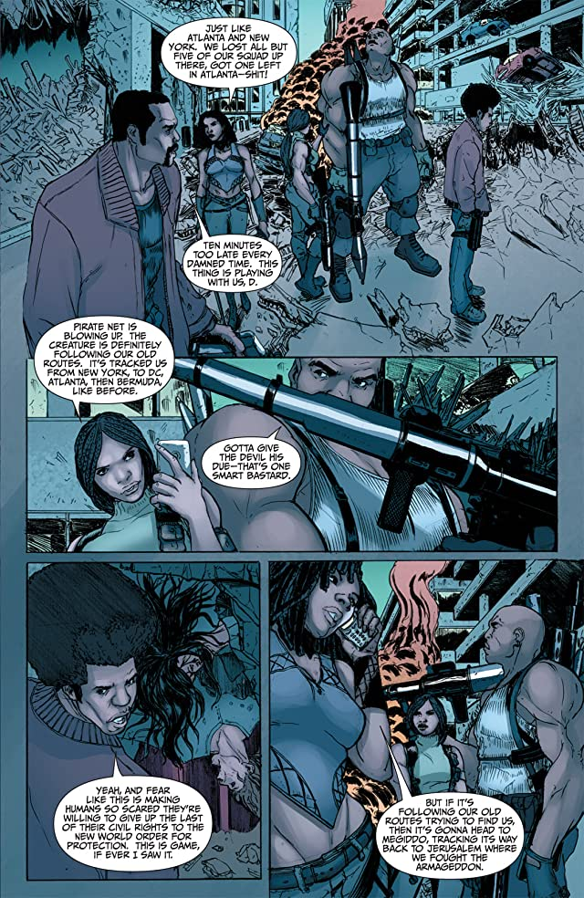 click for super-sized previews of L.A. Banks' Vampire Huntress #4: The Hidden Darkness