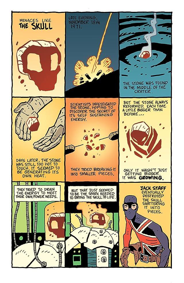 The Weird World of Jack Staff #4