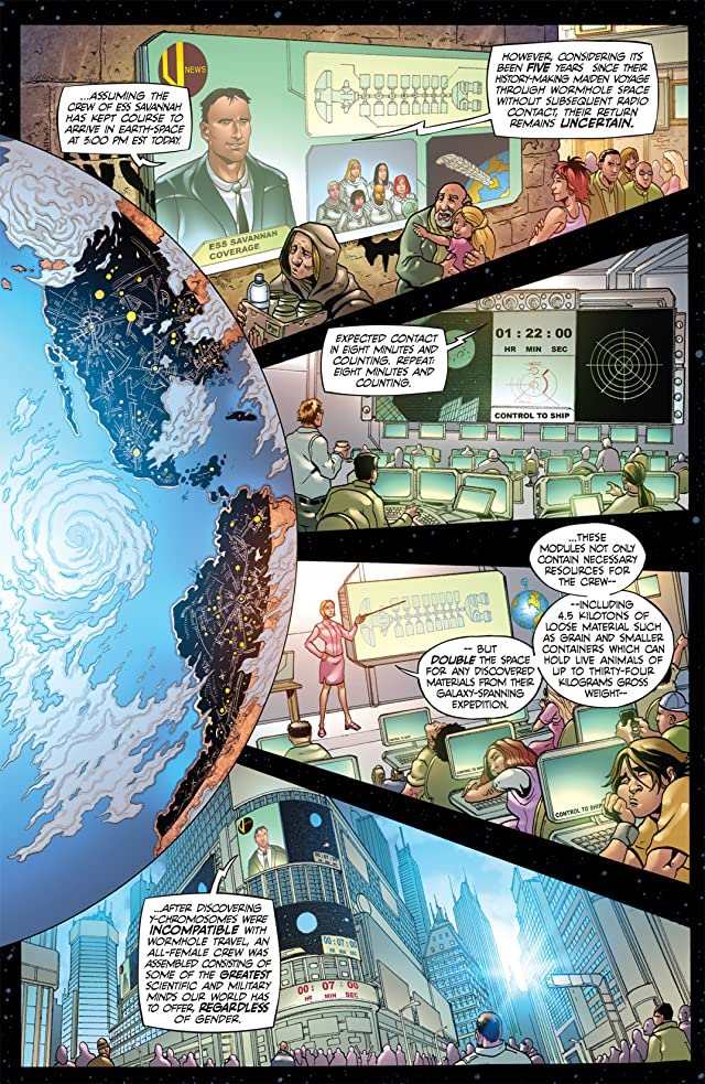 click for super-sized previews of 50 Girls 50 #1