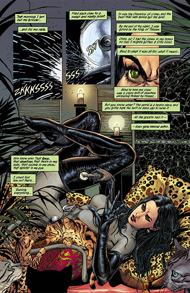 click for super-sized previews of Batman/Catwoman: Trail of the Gun #2