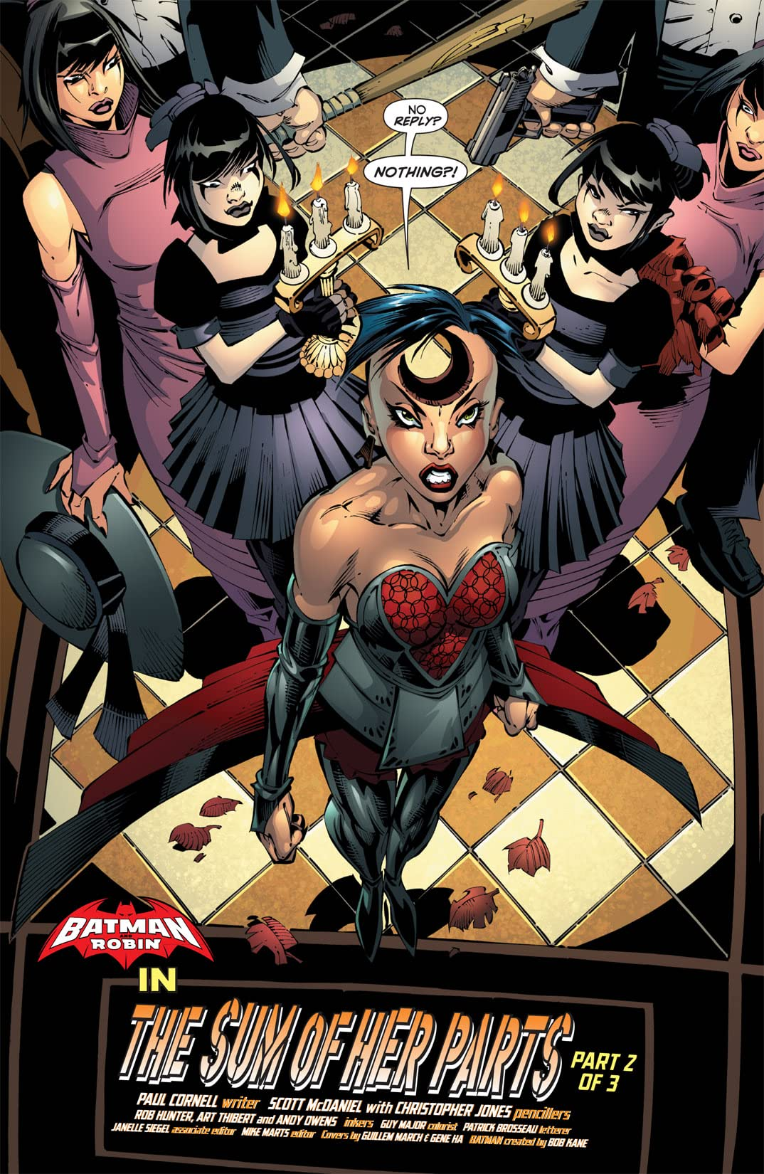 Batman and Robin (2009-2011) #18
