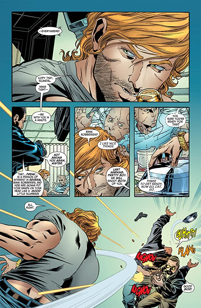 click for super-sized previews of Secret Six (2006) #3