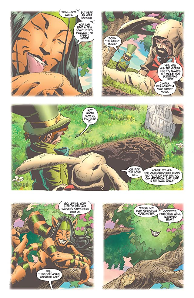 click for super-sized previews of Secret Six (2006) #6