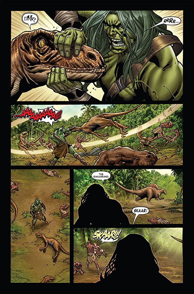 click for super-sized previews of Skaar: King of the Savage Land #3 (of 5)
