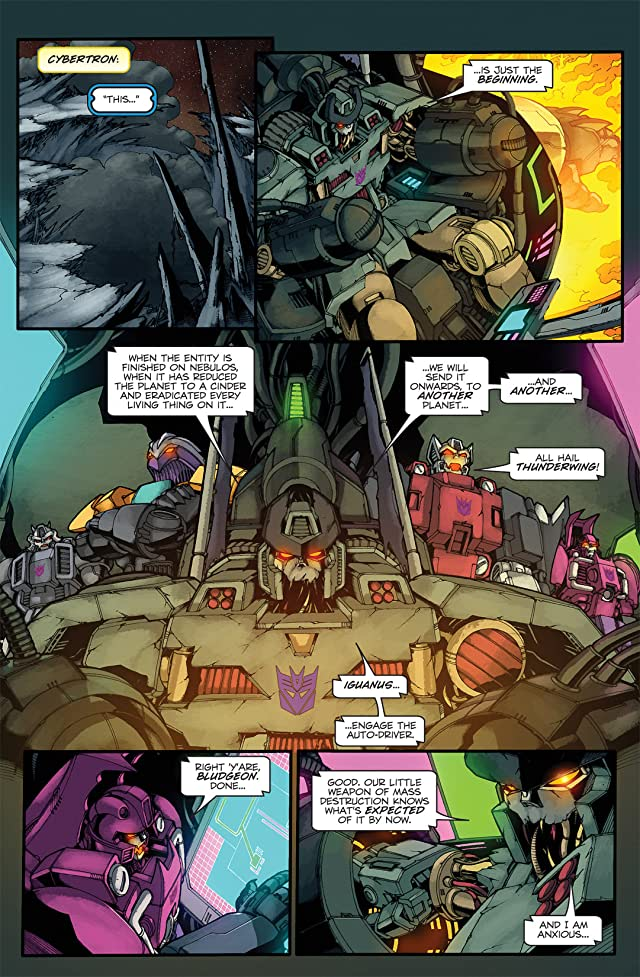 click for super-sized previews of Transformers: Stormbringer #3 (of 4)