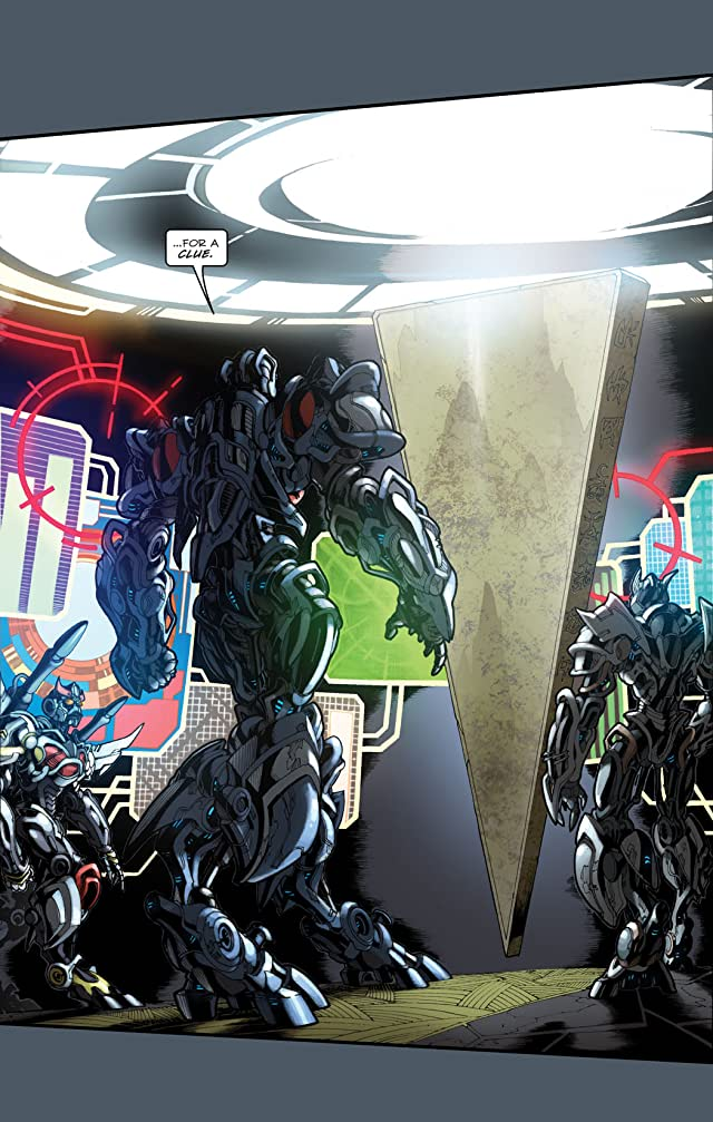 click for super-sized previews of Transformers: Defiance - The Revenge of the Fallen Movie Prequel #3