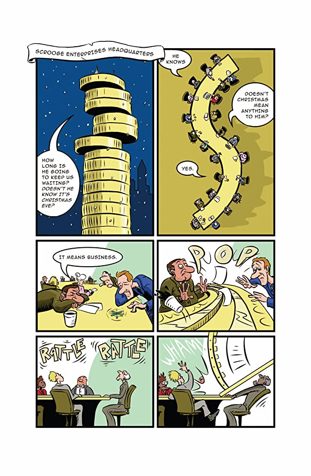 click for super-sized previews of Scrooge and Santa #1