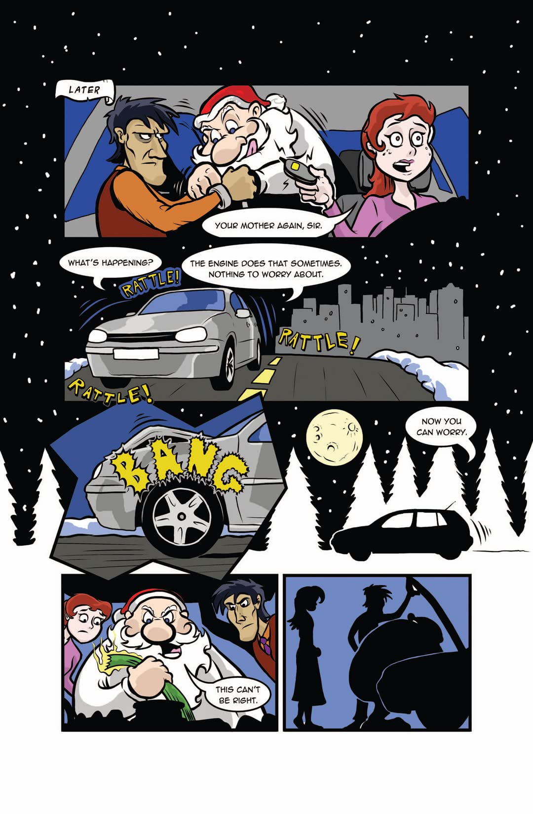 Scrooge and Santa #4