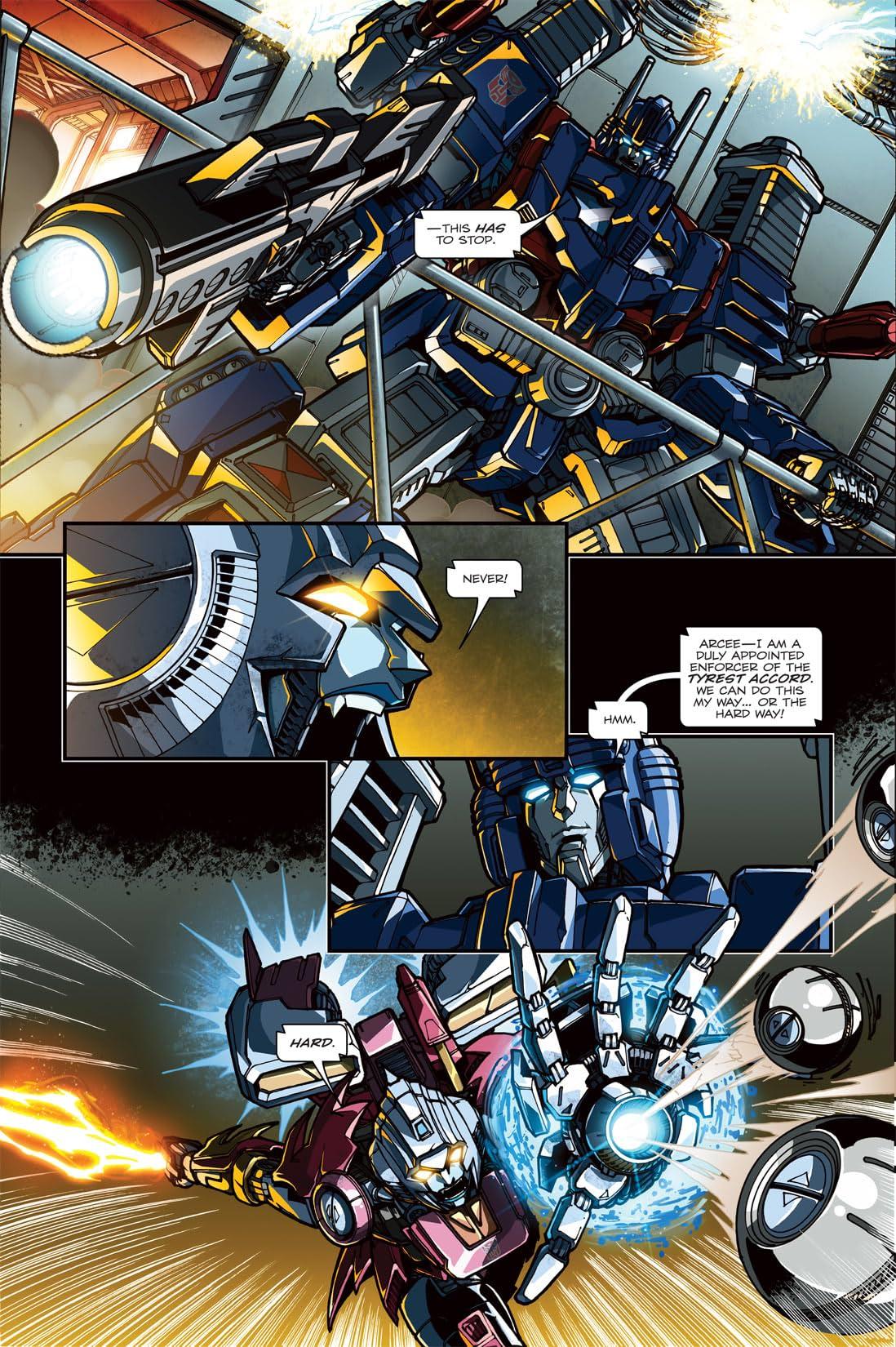 Transformers: Spotlight - Arcee