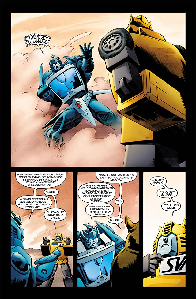 click for super-sized previews of Transformers: Bumblebee #2