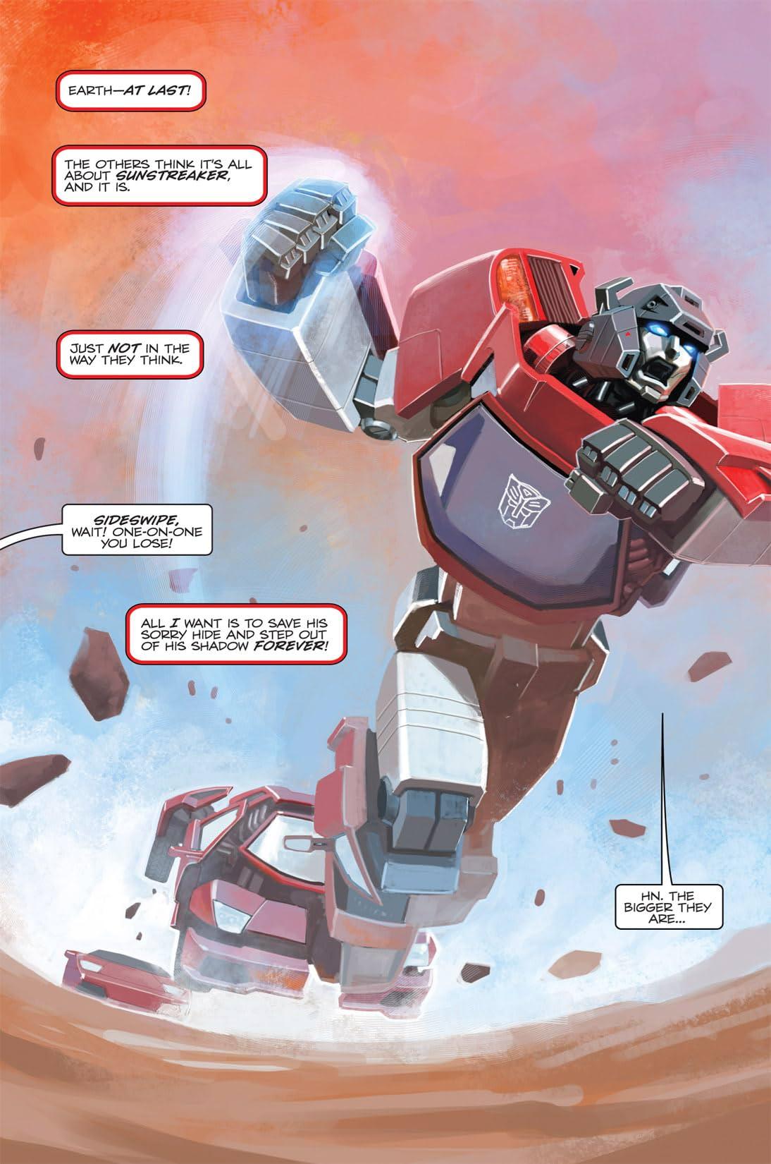 Transformers: Spotlight - Sideswipe