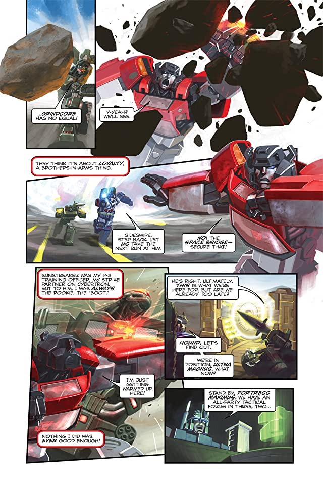 click for super-sized previews of Transformers: Spotlight - Sideswipe