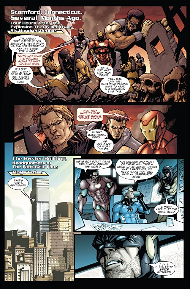 click for super-sized previews of Avengers: The Initiative #8