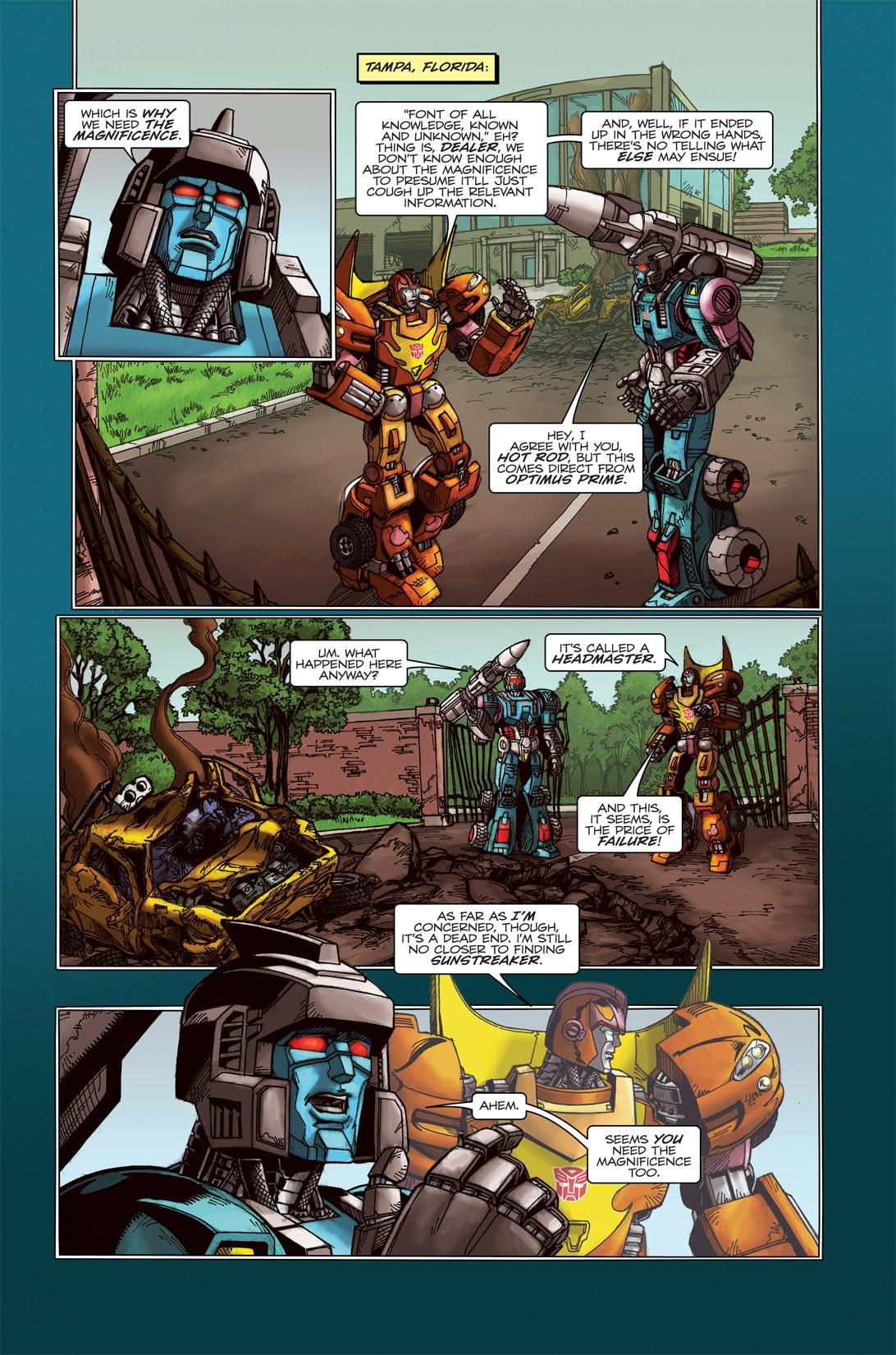 Transformers: Spotlight - Doubledealer