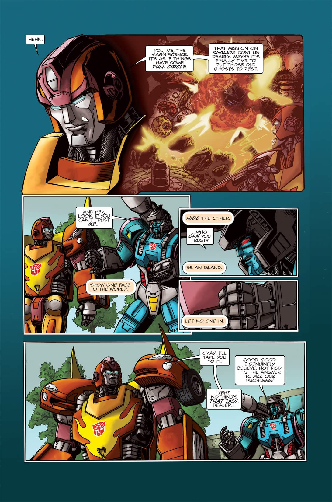 Transformers: Spotlight - Doubledealer