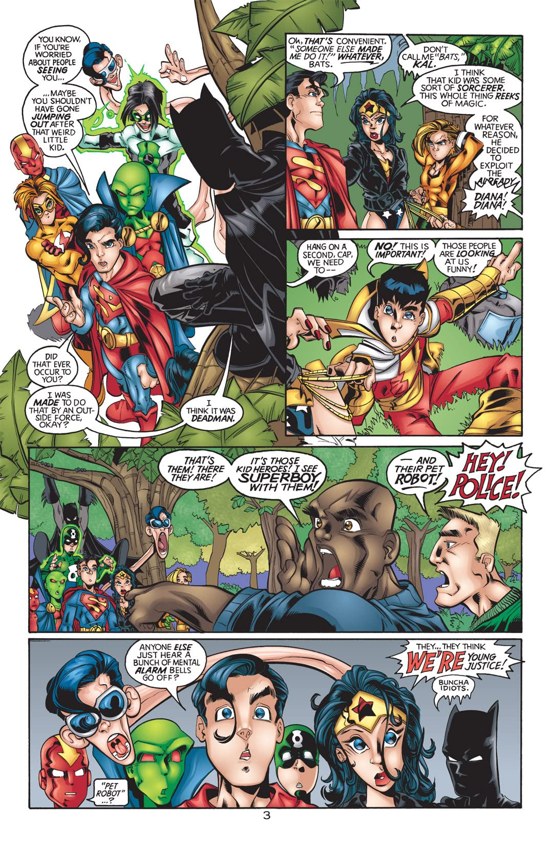 Sins of Youth: JLA Jr. #1